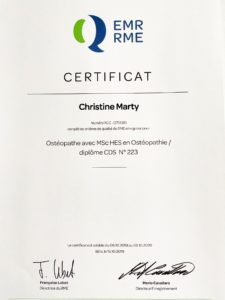 ChristineMarty-Certification RME